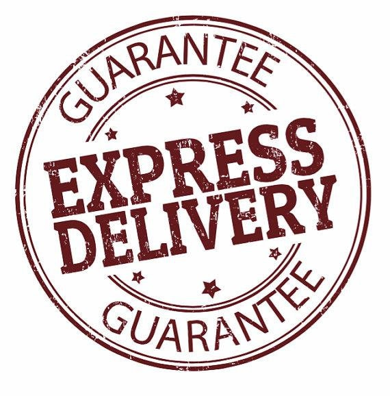 RUSH MY ORDER Express Delivery