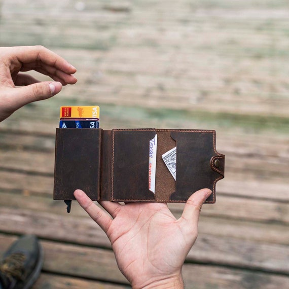 Handstiched cardholder,Unisex wallets,Handmade leather goods,Minimalistic leather accessories