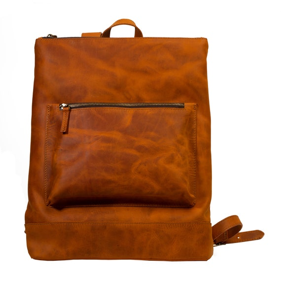 Leather backpack buckle small travel rucksack purse backpack adjustable buckle backpack boho chic backpack vintage backpack