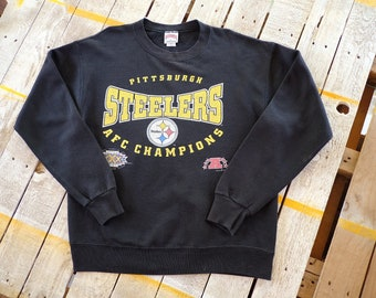 089b9d3bf Vintage 90s Pittsburgh Steelers AFC champions