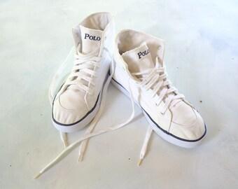 dce26c92fca2 Polo Ralph Lauren high top shoes