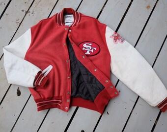 Rare!! vintage NFL San Francisco 49ers varsity jacket 6accd63dd