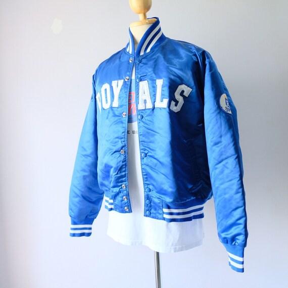 90s Kansas City Royals Baseball MLB Bomber Jacket