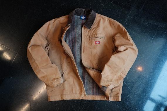 Dickies Brown Workwear Jacket, Canvas Jacket (size