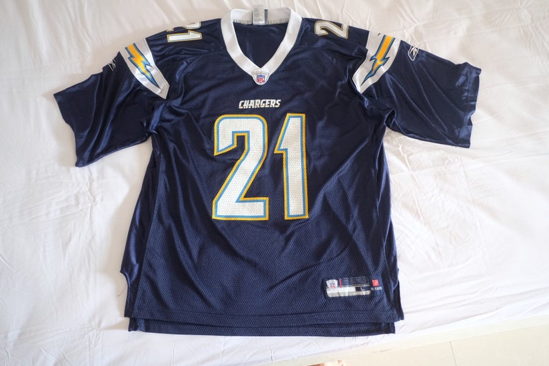 pretty nice 4b814 54ad7 Vintage San Diego Chargers jersey, Ladainian Tomlinson, NFL authentic (size  L)