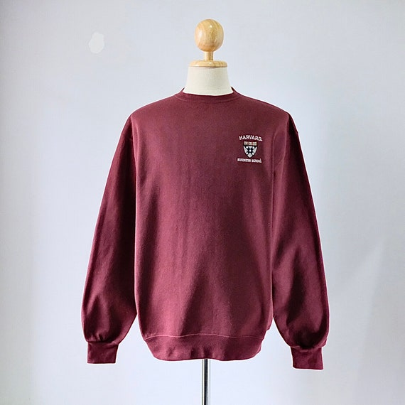 Vintage Harvard University Business School Sweatsh