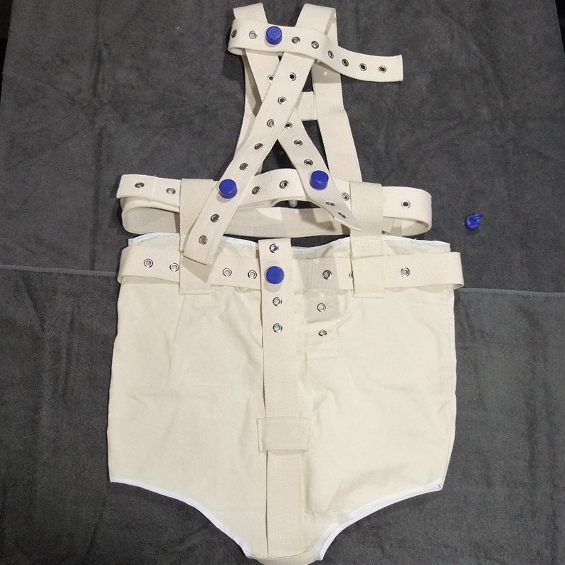 Segufix Diaper Cover ABDL connected shoulder harness and