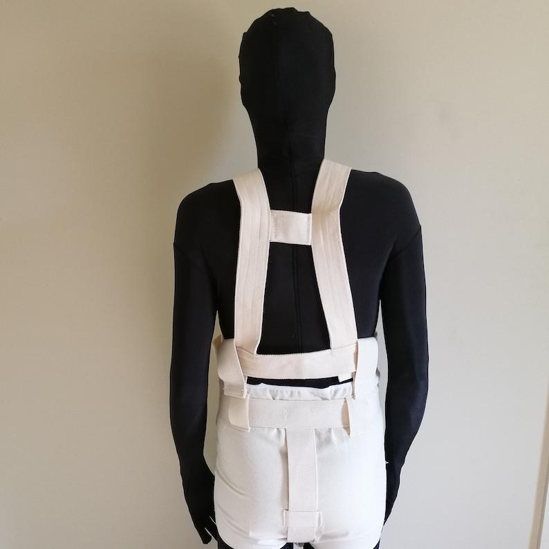 Segufix Diaper Cover ABDL connected shoulder harness for