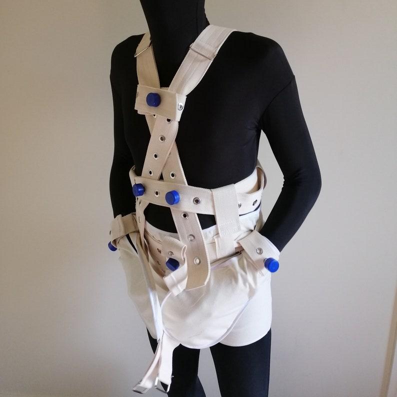 Segufix Locking Diaper Cover ABDL connected shoulder
