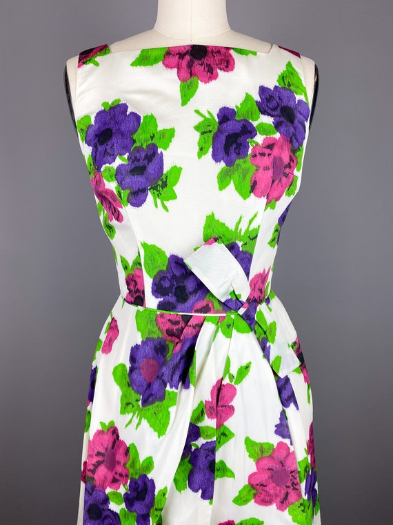 Vintage 1950s Dress by Jr Theme | XS, Small | 50s… - image 3