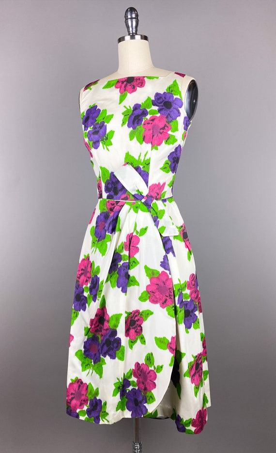 Vintage 1950s Dress by Jr Theme | XS, Small | 50s… - image 6