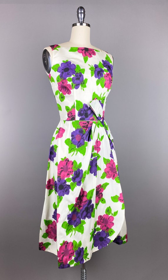 Vintage 1950s Dress by Jr Theme | XS, Small | 50s… - image 4