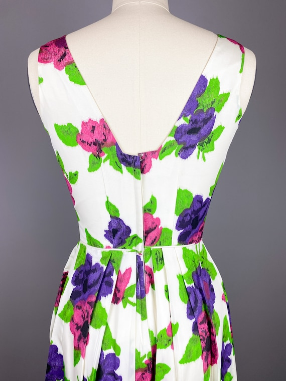 Vintage 1950s Dress by Jr Theme | XS, Small | 50s… - image 8