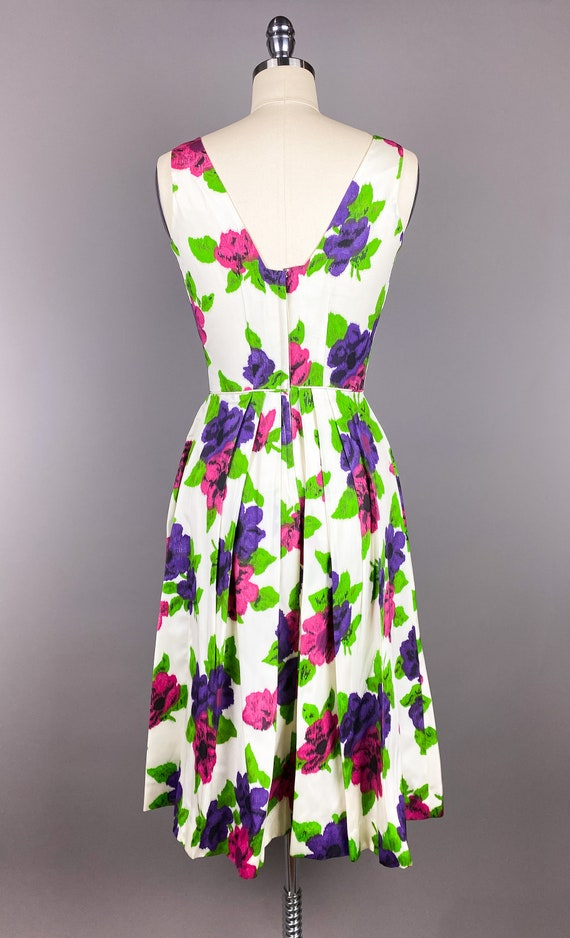 Vintage 1950s Dress by Jr Theme | XS, Small | 50s… - image 9