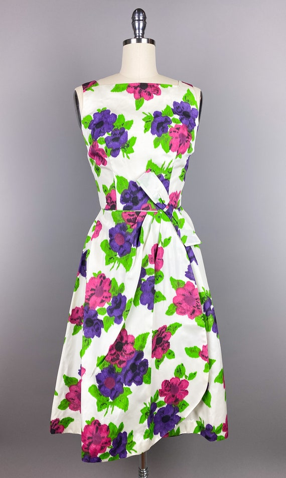 Vintage 1950s Dress by Jr Theme | XS, Small | 50s… - image 2