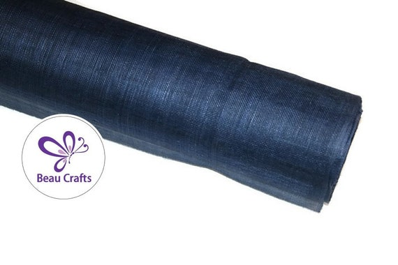 Sinamay Fabric for Millinery Hat Making Stiffened Natural Sinamay Fabric