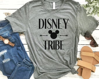 Disney Tribe Shirt / Disney World Shirt / Disneyland Shirt / Matching Disney Family Shirts / Matching Friends Shirt