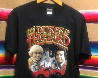 7a7a9965 The Dukes of Hazzard General Lee 1990s Vintage Tee- Medium