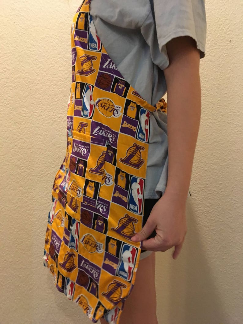 Aprons in sports material Cotton fabric