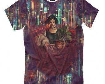 Leon Art Full Print  T-shirt, Men's Women's All Sizes