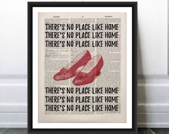 Theres No Place Like Home Wall Quote Vinyl Wall Art Decal 5