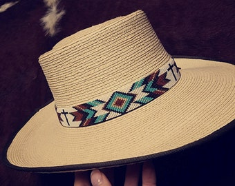 Turquoise Cross Hat Band 0c3d18b0b261