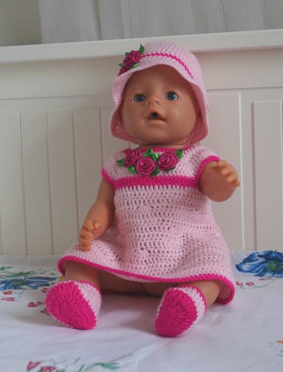 16 Puppenkleider Puppe Kleidung Baby Puppe Kleidung Häkeln Etsy