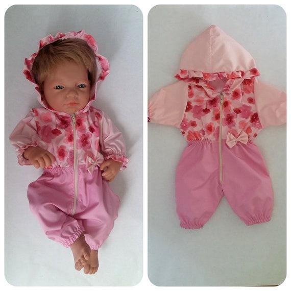 Bambole vestiti 43cm Baby Born Bambola o simili Set Regalo Vestito Ragazza Stivali Gilet Pelliccia
