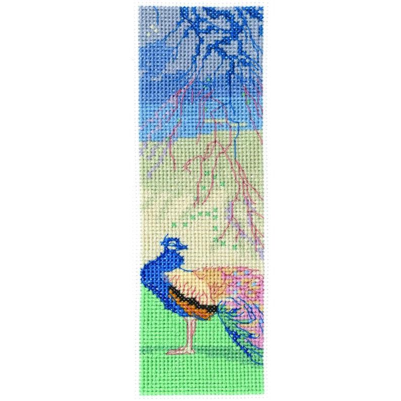 DMC British Museum When Winter Wanes Counted Cross Stitch Bookmark Kit