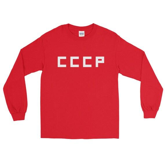 d4c12e190 Retro Vintage Russian Football ShirtCCCPSoviet TShirt