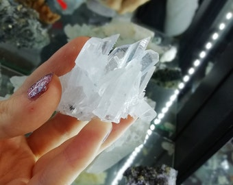 Attractive Clear Quartz  from Madan,Bulgaria,White Crystal,Rock Mineral ,Lustrous Crystal,White Mineral
