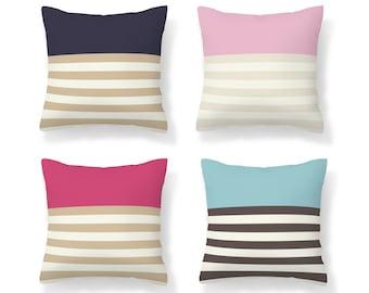 Lilac Pillow Lumbar Pillow 1132 Striped Pillow Designer Throw Pillow 12x42 Needlepoint Wool Pillow Turkish Kilim Pillow Pillow Cover