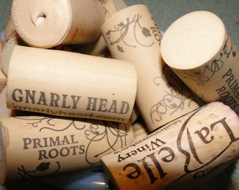 50 USED WINE CORKS NO SYNTHETIC OR CHAMPAGNE FREE USA SHIPPING