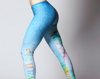 25669a9f90e73a Hummingbird, Leggings, Women's Printed Leggings, Fun Leggings, Cute Leggings,  Trendy Leggings, Funky Leggings