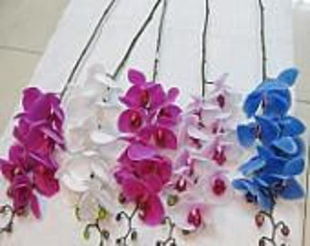 Submersible flowers etsy real touch submersible pink and white phalaenopsis orchid mightylinksfo