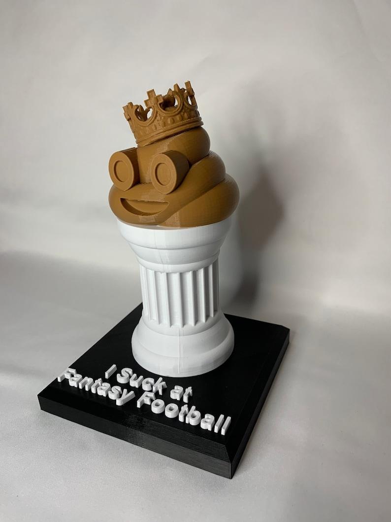 I Suck at Fantasy Football Trophy