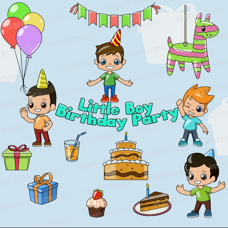 Birthday Party Clipart Clip Art