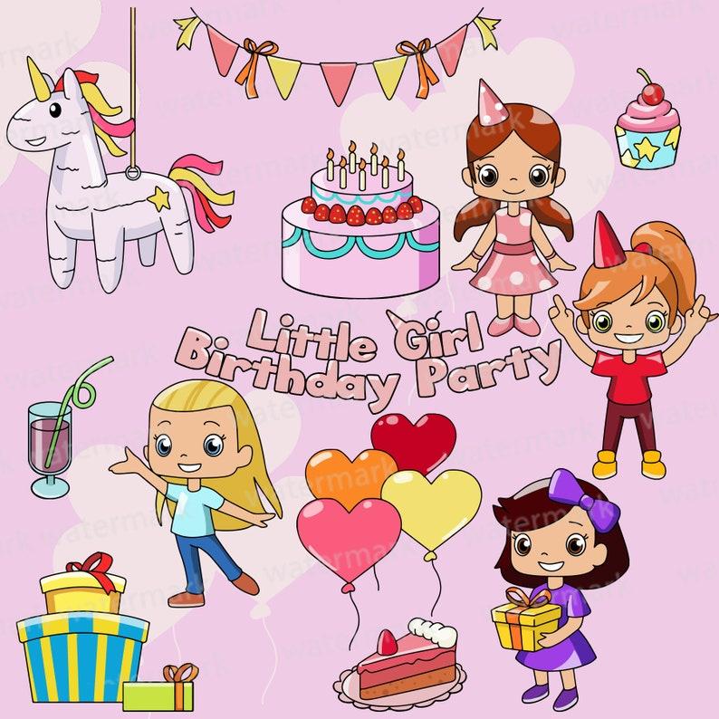 Birthday Party Clipart Clip Art