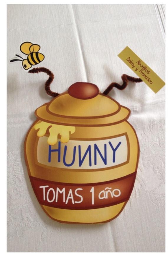 winnie the pooh honey jar invitations etsy