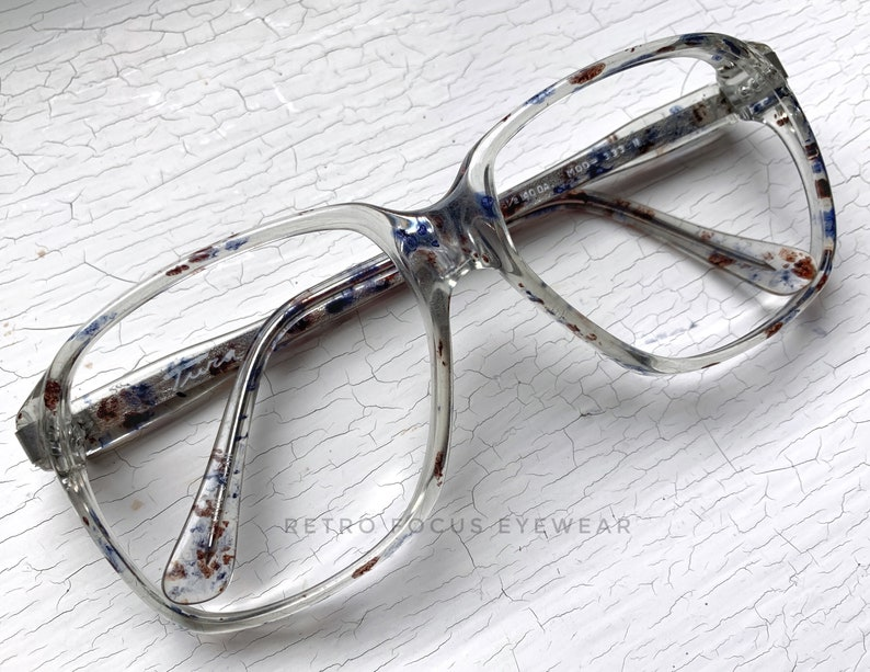 55342883e00a 53-17-140 Tura Speckled Blue Maroon Spots MOD 333 70 s