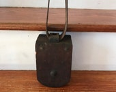 Wooden Pulley - Barn Pulley - Block and Tackle Rope Pulley