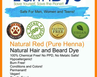 Natural Pure Henna Hair Dye