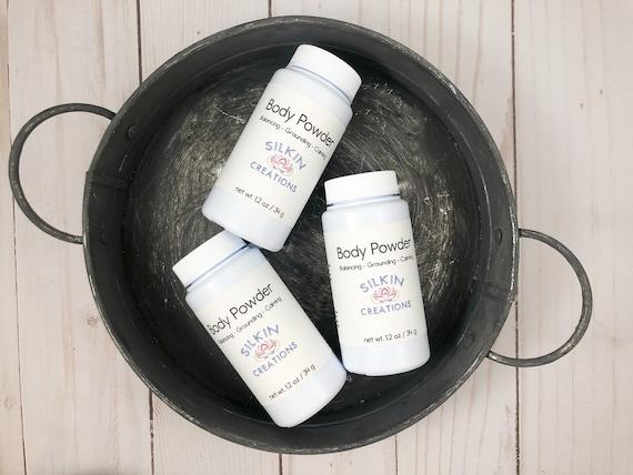 Talc Free Body Powder After Shower Body Powder Body Dust Etsy
