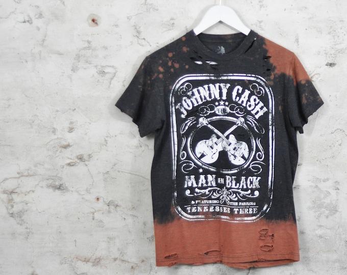 Johnny Cash Custom Rock Tee