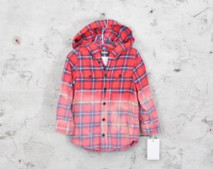 Custom Baby Flannel Shirt - 5T
