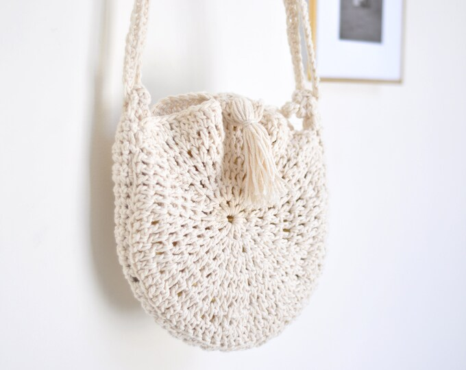 Crochet Bag with Tassel
