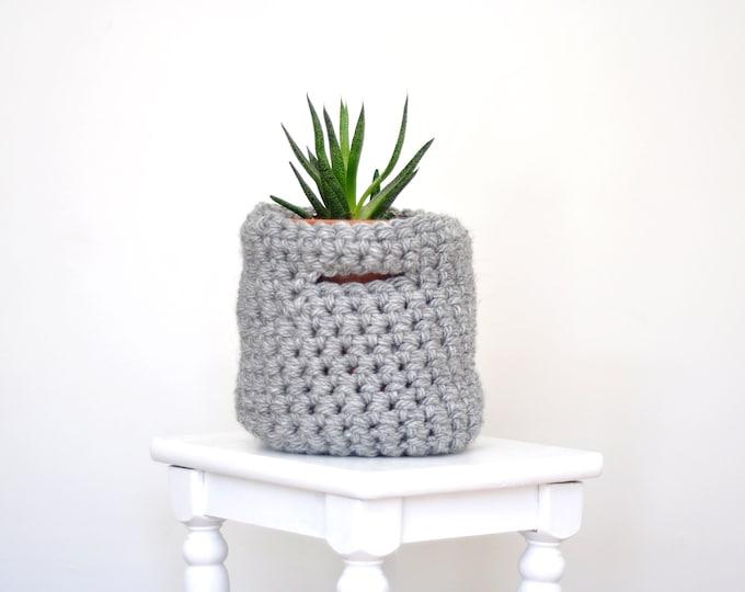 Crochet Plant Basket