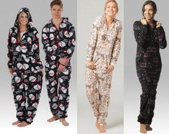 50e26662b6 Boxercraft One Piece Unisex Adult Pajamas