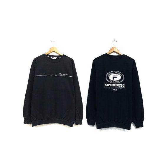 Rare!!! Vintage FILA Sweatshirt Crewneck Embroider