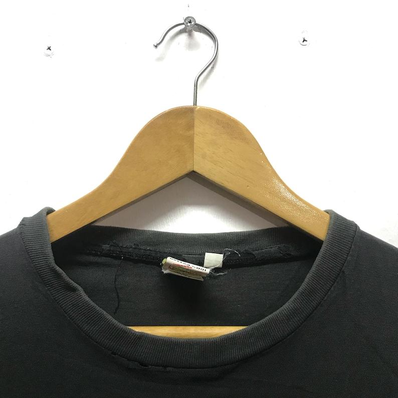 Vintage I Love Milano Crewneck Big Logo Love Pullover Jumper I Love Milano T-Shirt Lemon Collection Tag Shirt Black Colour